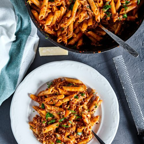American Chop Suey easy to make step-by-step recipe