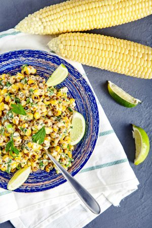 Mexican Corn Salad easy to make step-by-step recipe