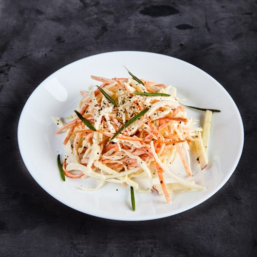 Пошаговый рецепт простого капустного салата коул слоу от Джейми Оливера