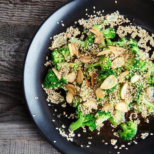 Asian Broccoli with Soy Sauce and Ginger easy to make step-by-step recipe