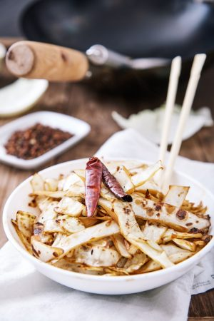 Chinese Fried Cabbage easy to make step-by-step recipe
