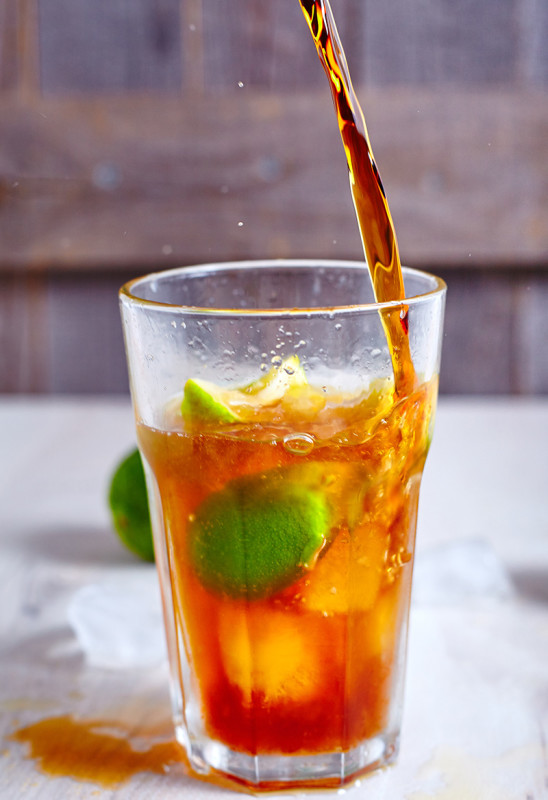Cuba Libre or Just Rum and Coke easy to make step-by-step recipe