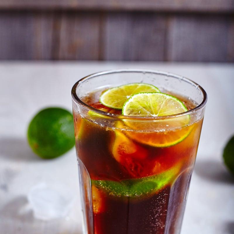 Serve cuba libre or just rum and coke