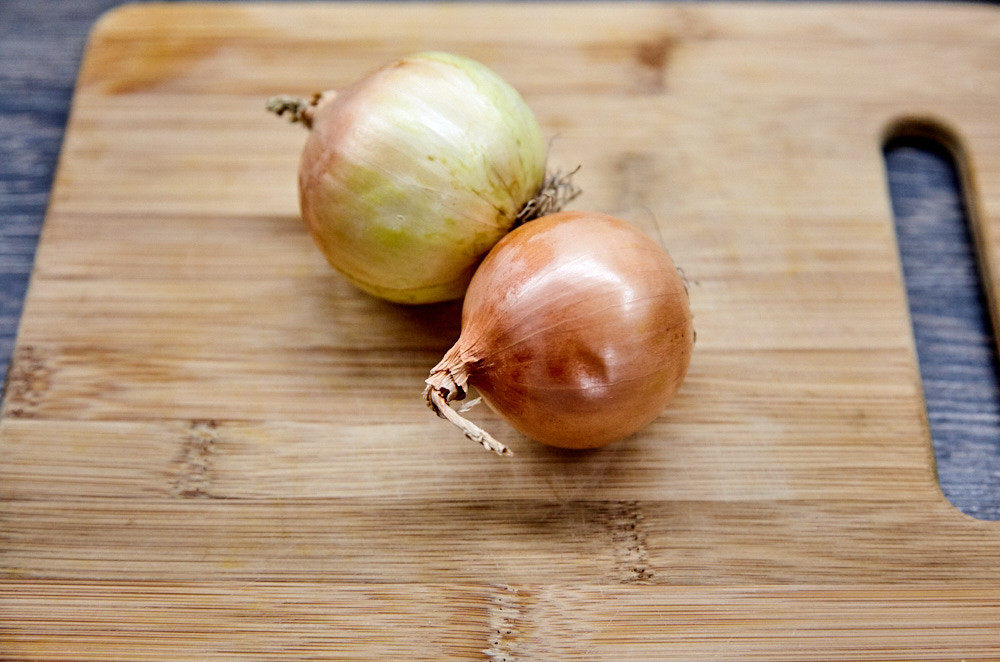 Take 2 onions for instant pickled onions