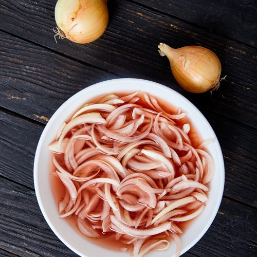 Instant Pickled Onions easy to make step-by-step recipe