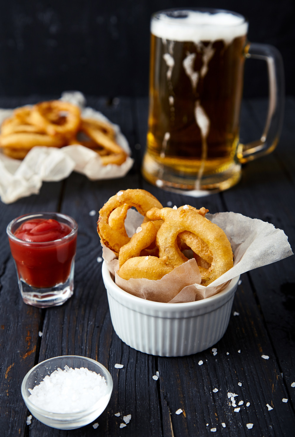 Beer Battered Onion Rings easy to make step-by-step recipe