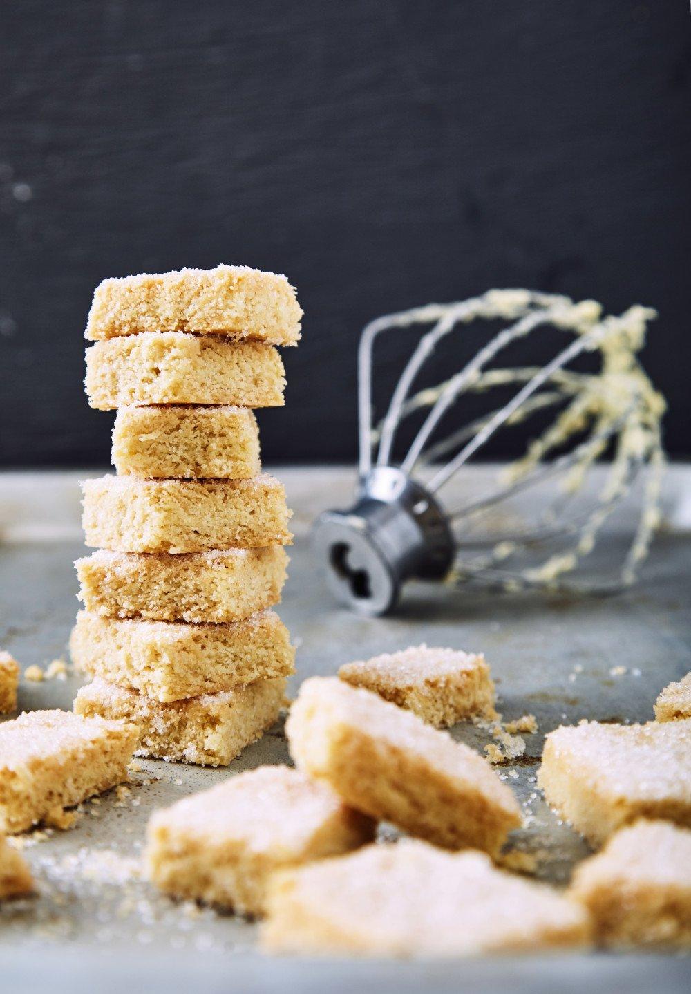 Пошаговый рецепт простого лучшего песочного печенья по версии Джейми Оливера