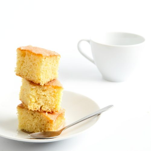 Пошаговый рецепт простого лимонного пирога с глазурью