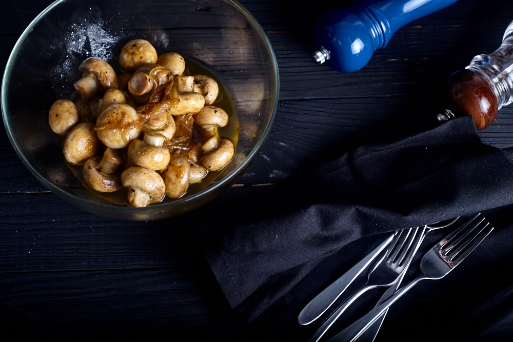 Serve mushrooms for Gordon Ramsay's pickled mushrooms