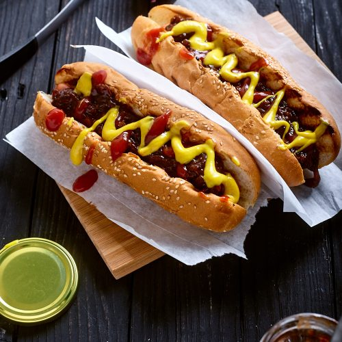 New York Hot Dog easy to make step-by-step recipe