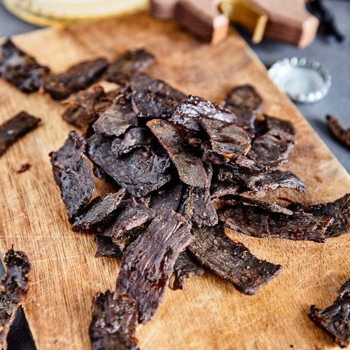 Пошаговый рецепт простой вяленой говядины к пиву или jerky