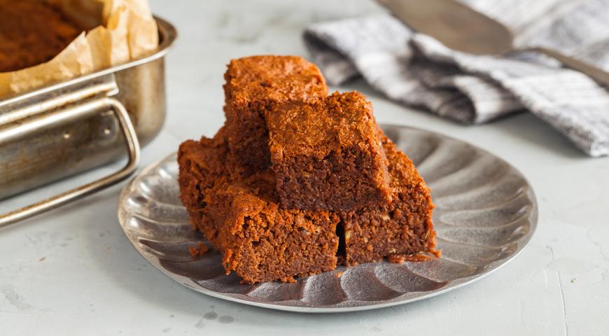 #31 Брауни с кабачком - Рецепт от Gastronom |30+ рецептов из кабачков