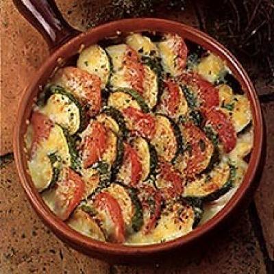 #22 Гратен с кабачками и томатами - Рецепт от Deliaonline |30+ рецептов из кабачков