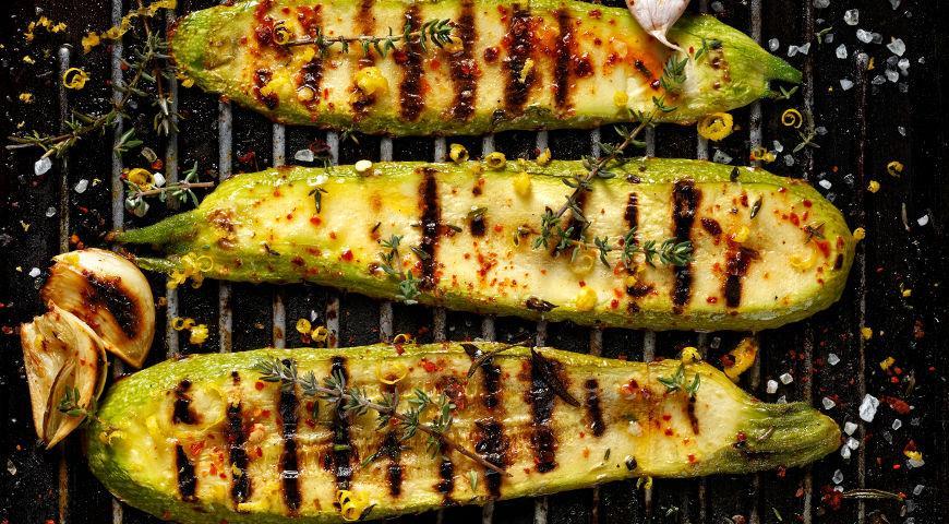 #23 Кабачки, жареные на гриле - Рецепт от Gastronom |30+ рецептов из кабачков