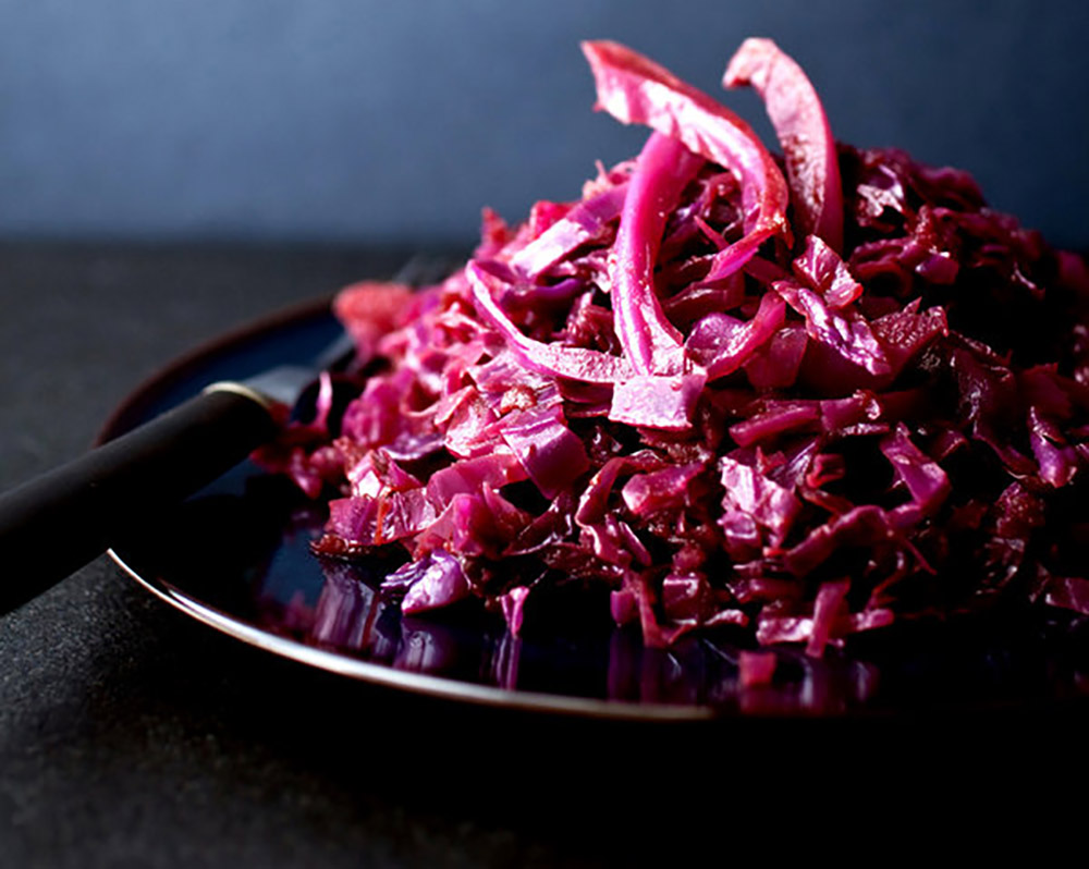 #10 Red cabbage stew with apples Cooking.nytimes's recipe - - 23 red cabbage recipe ideas