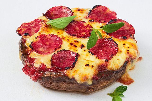 #2 Пицца-гриб - Рецепт от Taste  10 рецептов из шампиньонов