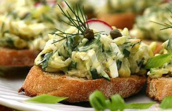 #9 Тосты с бутербродом и яйцом - Рецепт от Ivona.bigmir |30+ рецептов из кабачков