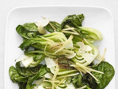 #6 Стир-фрай из пак-чой с имбирем и чесноком - Рецепт от Grandkulinar| 20 идей для рецептов из капусты