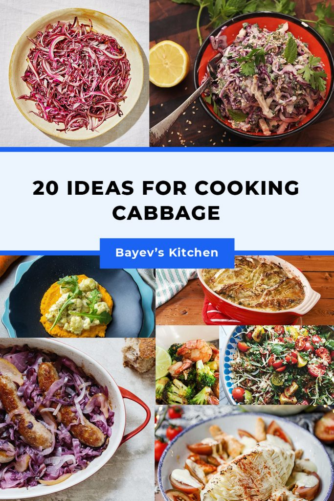 20 ideas for cooking cabbage
