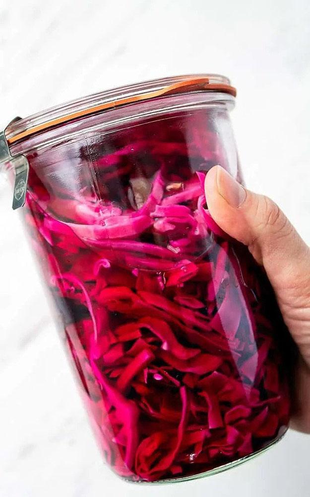 # 3 Pickled purple cabbage - Taketwotapas' recipe + - 23 red cabbage recipe ideas