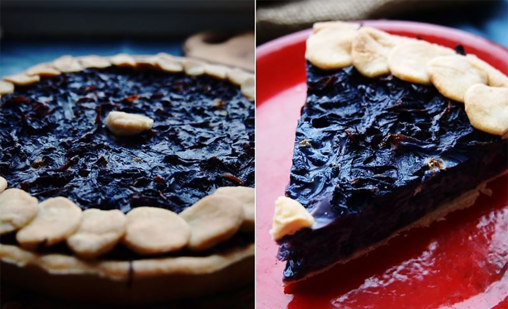 #22 Red cabbage and sour cream pie - My-happyfood 's recip - 23 red cabbage recipe ideas