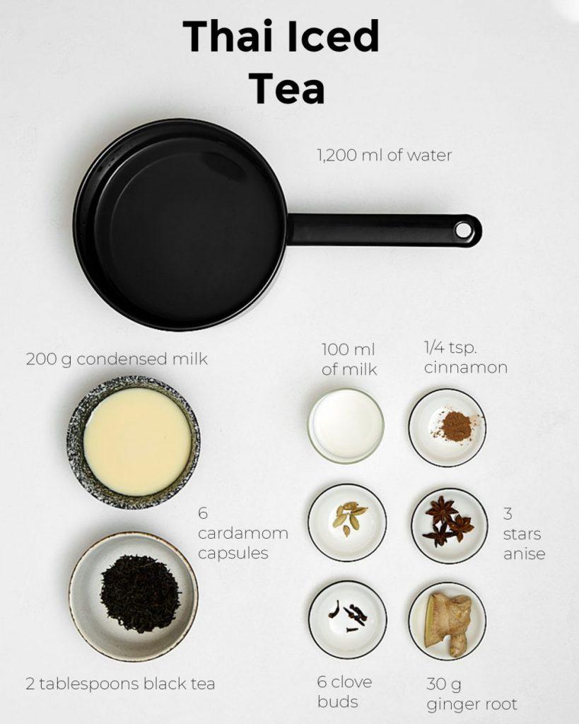 Thai Iced Tea Ingredients