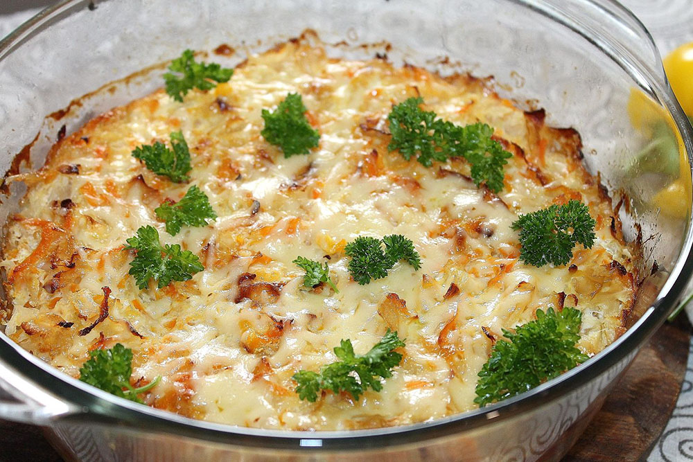 # 19  Запеканка из капусты с яйцом - Рецепт от Fresh | 20 идей для рецептов из капусты