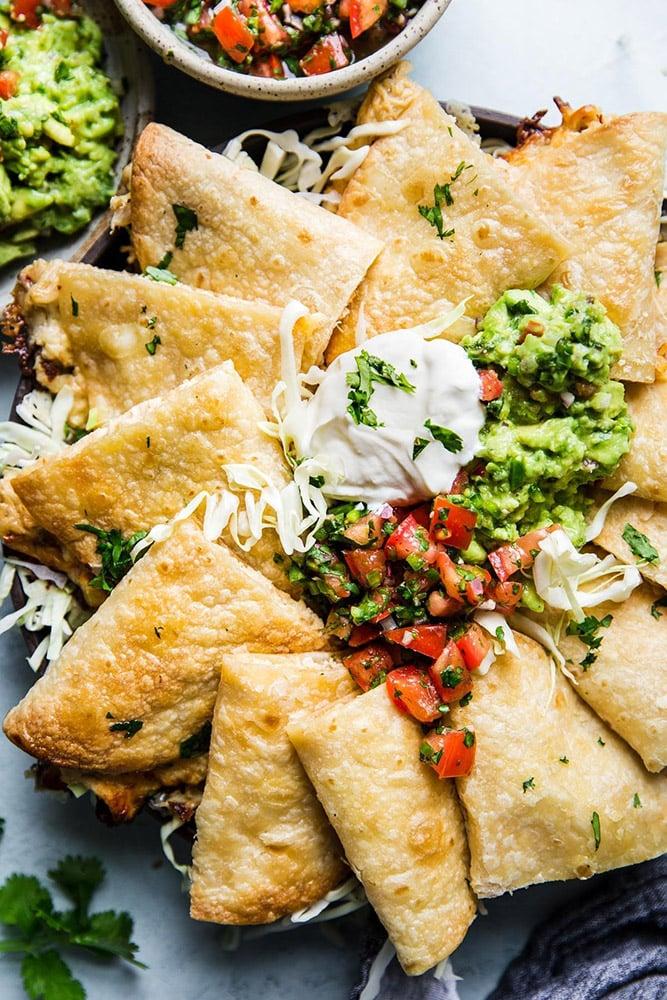 #29  Baked chicken quesadillas. Themodernproper's recipe | 30 chicken fillet recipe ideas
