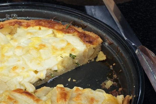 #11 Quiche with caramelized garlic and herbs. Eda's recipe | 12 garlic recipe ideas