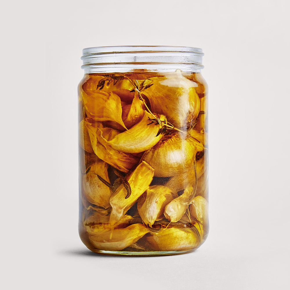 #8 Garlic and herb confit - Bonappetit's recipe | 12 garlic recipe ideas