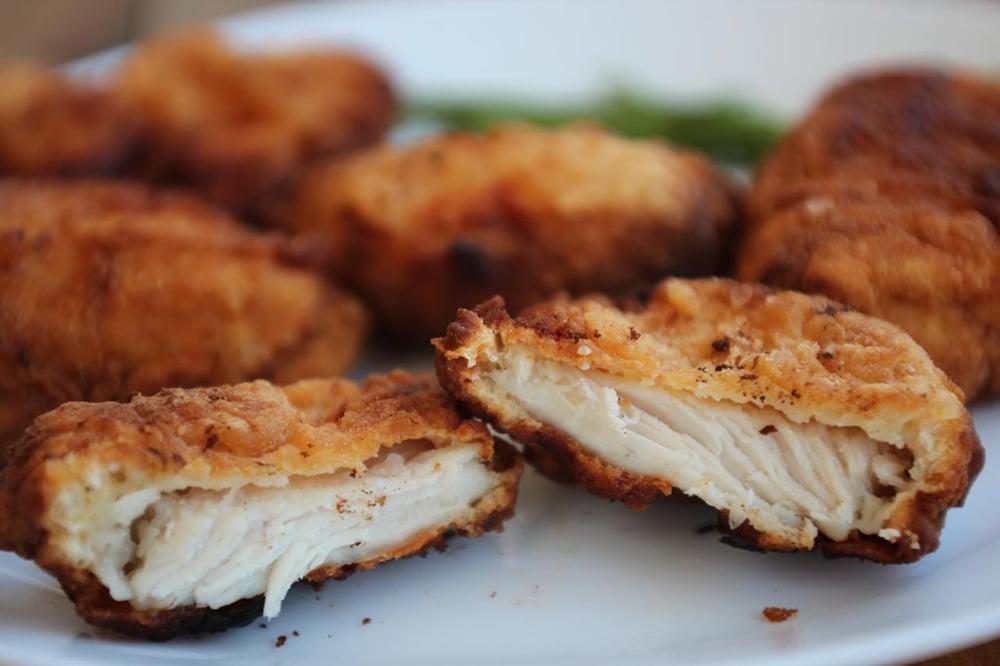 #1 Chicken nuggets. Kitchen.727go's recipe | 30 chicken fillet recipe ideas