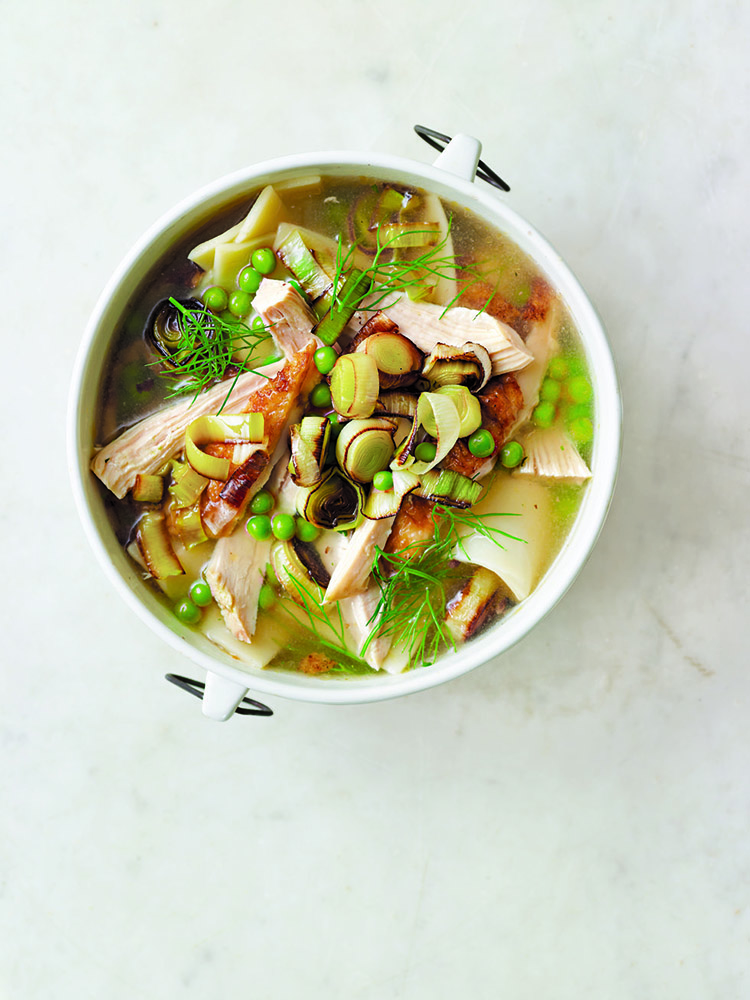 #13 Chicken noodle soup.  Countryliving's recipe | 30 chicken fillet recipe ideas