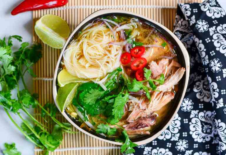 #14  Chicken soup pho in a pressure cooker in Vietnamese style.  Countryliving's recipe | 30 chicken fillet recipe ideas