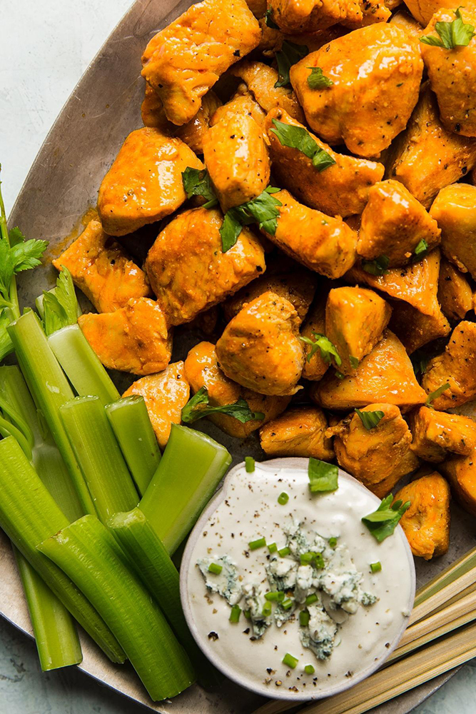 #2 Buffalo chicken.  Themodernproper's recipe | 30 chicken fillet recipe ideas