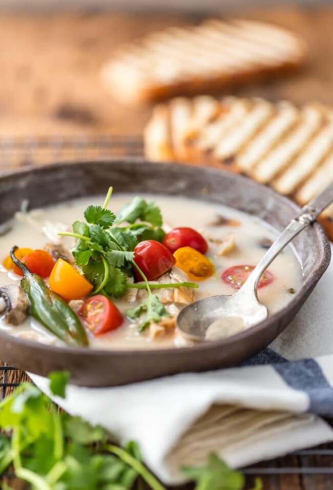 #15 Thai chicken soup with coconut. Thecookierookie's recipe | 30 chicken fillet recipe ideas
