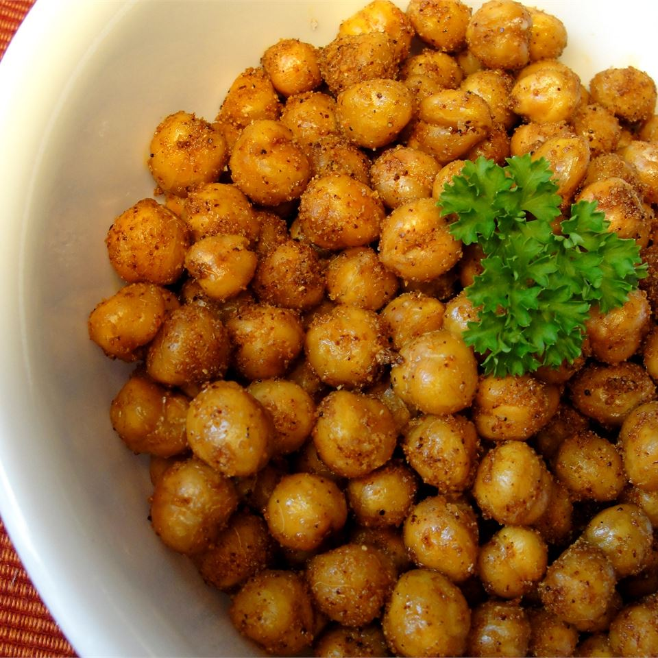 #1 Lazy roasted chickpea appetizer.