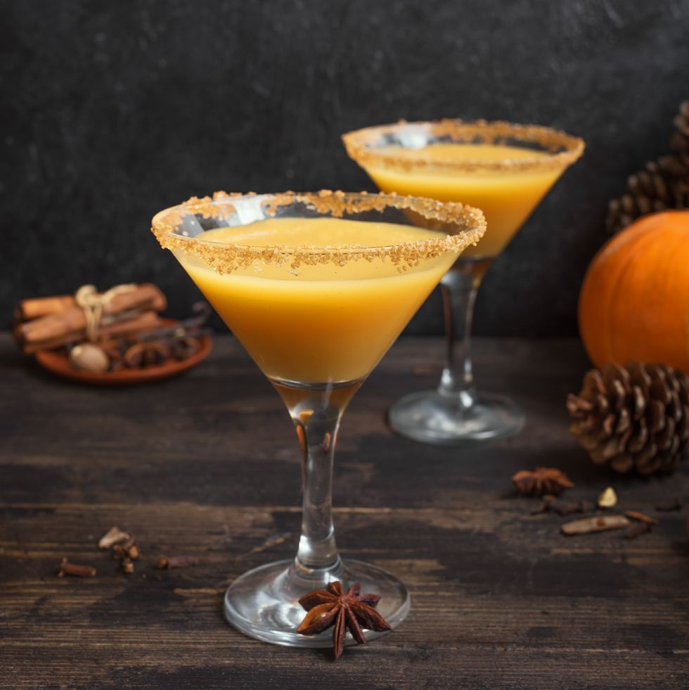 # 11 Pumpkin martini.