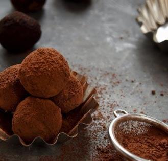 #18 Chickpea truffles.