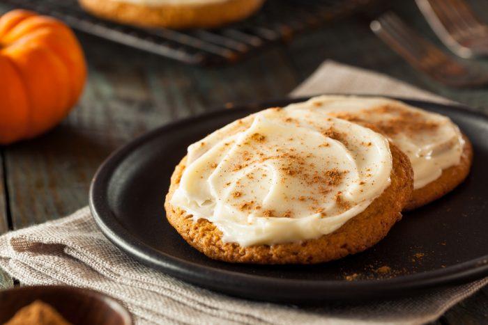 #19. Pumpkin cookies.