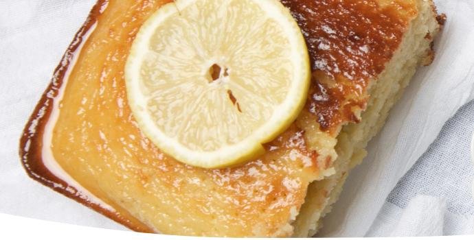 #23 Лимонный торт.
