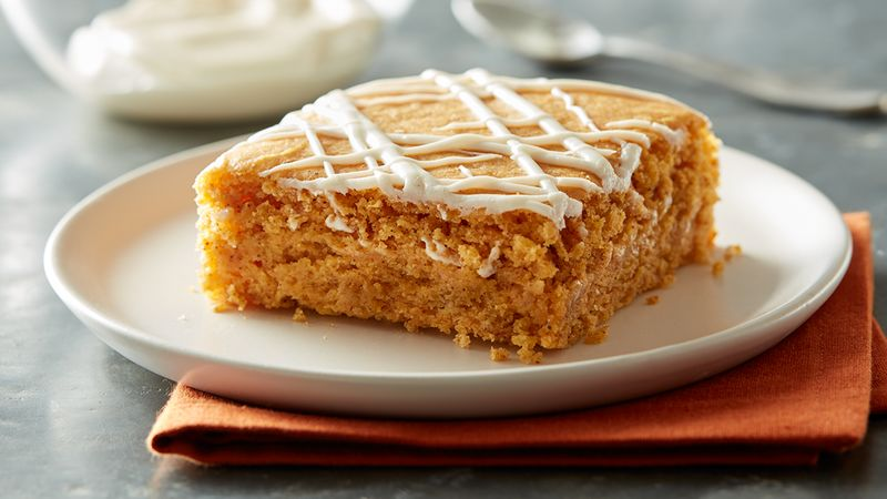 #23 Pumpkin pudding cake.