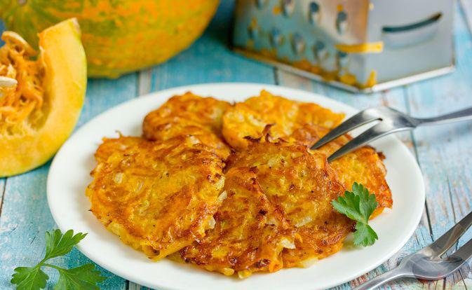 #33 Pumpkin potato pancakes.