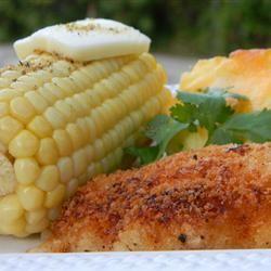 #36 Жареный цыпленок с картофелем в пахте.