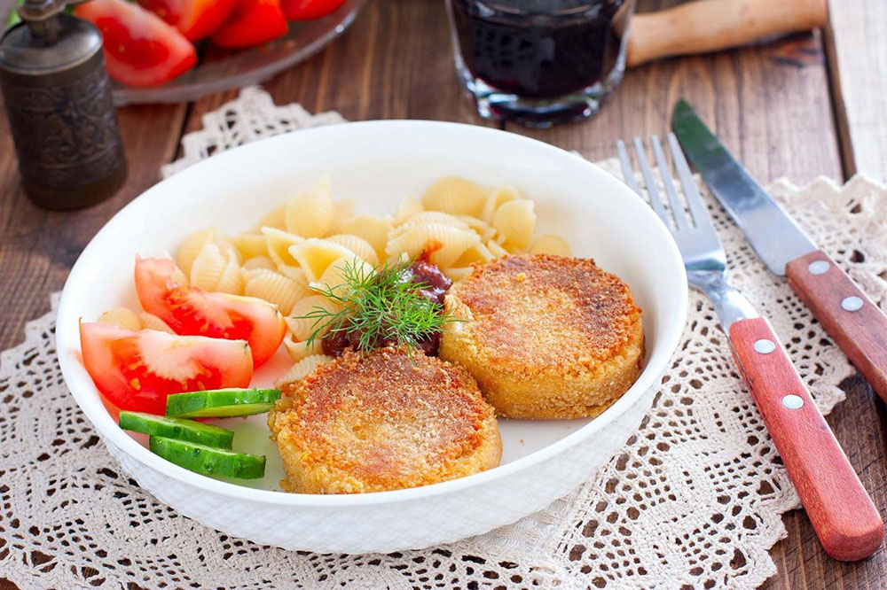#39 Vegetarian chickpea cakes.