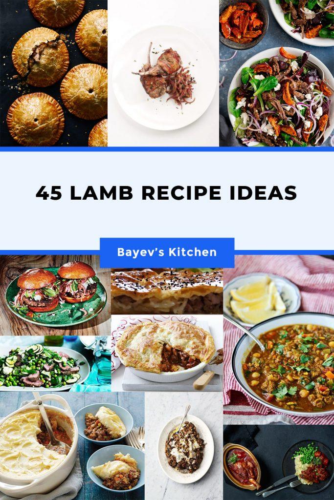 45 Lamb Recipe Ideas