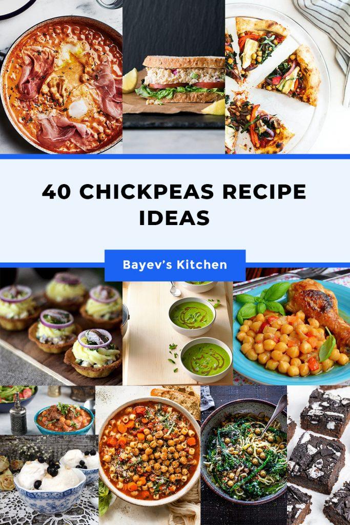40 Chickpeas Recipe Ideas
