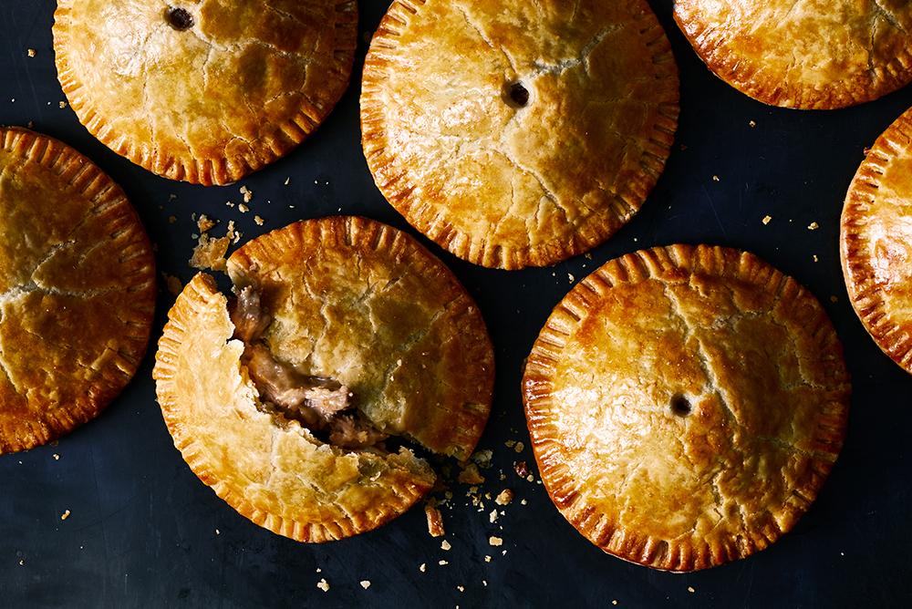 #15 Classic Irish lamb and herb pie.
