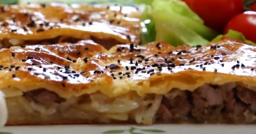 #17 Puff pastry pie with lamb..