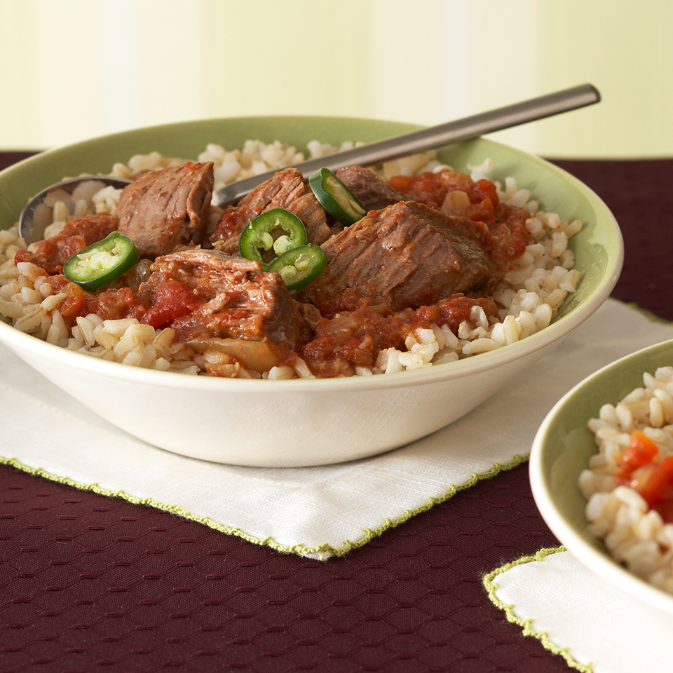 #33 Lamb and rice.